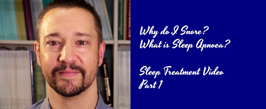 Snoring & Sleep Apnoea Video | Why Do I Snore?