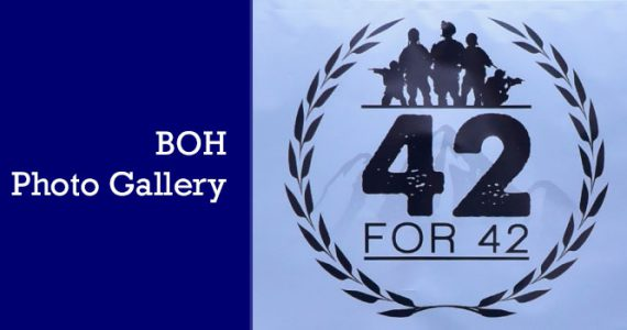 42for42 | BOH Participation & Photo Gallery